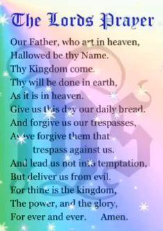 The Lord's Prayer Prayer Scriptures, Bible Prayers, Faith Prayer, God Prayer, Bible Verses Quotes, Healing Scriptures, Prayer Quotes For Strength, Strength Scriptures, Catholic Prayers Daily
