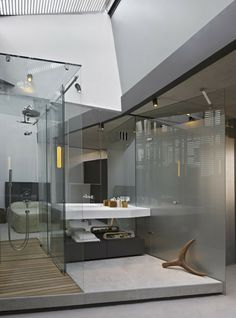 Haus melbourne and the amazing on pinterest for Open concept master bedroom and bathroom