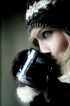 Mal tiempo....café caliente
