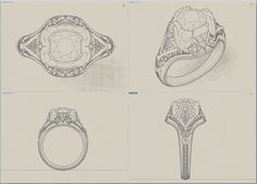 jewelry illustrations ring - Pesquisa Google
