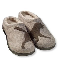 Women's Daybreak Scuffs, Dog Motif: Slippers | Free Shipping at L.L.Bean