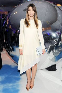 Date with Dior: Saks Celebrates the Fall 2013 Collection Jessica Biel