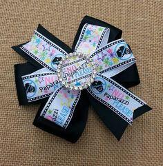 Check out this item in my Etsy shop https://www.etsy.com/listing/215928194/no-paparazzi-please-pinwheel-hair-bow