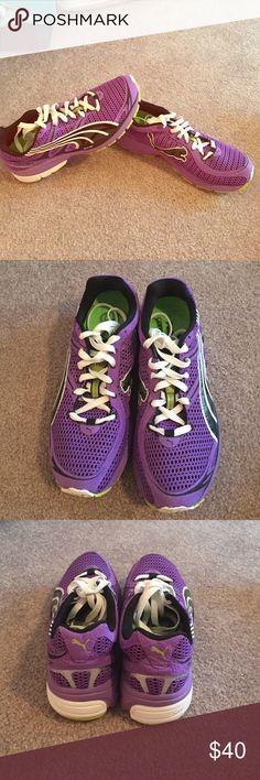 Purple Puma Sneakers NWOT Never been worn!! Great sneakers Puma Shoes Sneakers