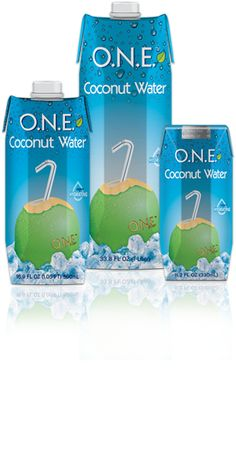 O.N.E. Coconut Water- love this with a snack or with my nutribullet
