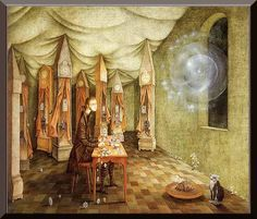 Remedios Varo= Revelation or the Clockmaker
