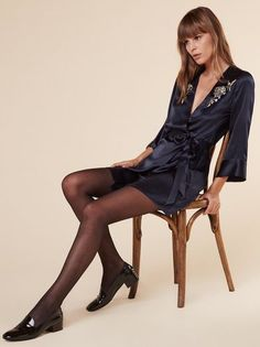 The Caro Dress  https://www.thereformation.com/products/caro-dress-navy?utm_source=pinterest&utm_medium=organic&utm_campaign=PinterestOwnedPins