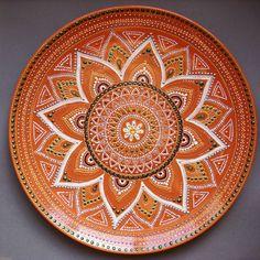 Mandala Drawing, Mandala Painting, Dot Painting, Acrylic Painting Canvas, Mandala Art, Pottery Painting, Ceramic Painting, Pottery Art, Arabesque