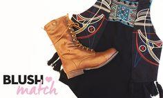 El Boho Chic es de nuestros favoritos, ¿qué te parece este #BlushMatch?