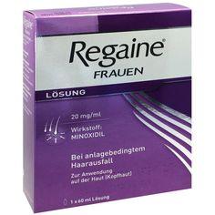REGAINE Frauen Minoxidil Lösung gegen Haarausfall:   Packungsinhalt: 60 ml Lösung PZN: 01997024 Hersteller: Johnson & Johnson GmbH (OTC)…