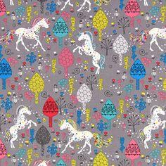 Cotton Dreamy Unicorn 3 - Cotone - grigio