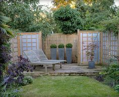 outdoor home decorating ideas, containers and flowerpots