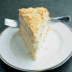 A triumvirate of coconut products puts maximum coconut flavor in this classic, tender cake.