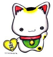 Maneki Neko by =Oborochann on deviantART
