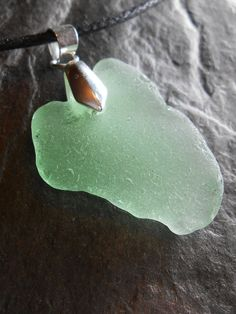 Sea Glass - Sea Glass Jewelry - SURF'S UP - Necklace by Sea Find Designs.