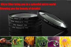 FREIGHT FREE - Professional 52mm Close Up +4 filter for Panasonic LUMIX DMC-GF2 GF3 G3 Canon 50MM  NIKON D3100 3200 5200 18-55mm Shop now