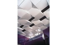 Geometric Metal Ceiling Panels from USG Corporation