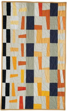 "= free pattern = ""Bakuba Cloth"" quilt by Pam Rocco for Quilters Newsletter"
