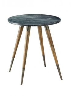 Owen Side Table Grey Marble Small Jy