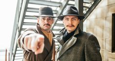 Four actors, 139 roles and 39 Steps – 'it's absolute madness' State Theatre Adelaide South Australia