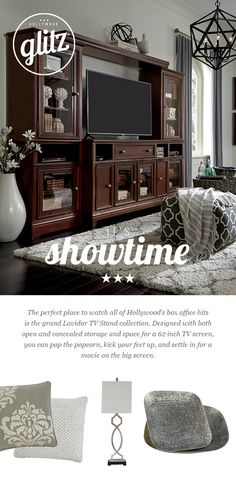 watch all of your favorite shows and movies in style the lavidor tv stand collection ashley furniture