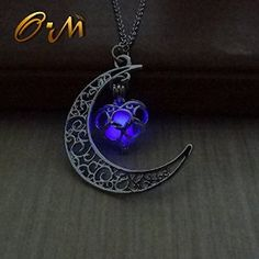 One of each color would be awesome. Amazon.com: Onairmall Luminous Series Moon Love Heart Pendant Necklace Fluorescent Necklace,Glow in the Dark (Purple): Arts, Crafts & Sewing