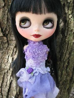 OOAK Silk Lavender/Periwinkle Shades Party Dress by cindysowers, $42.00