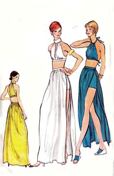 GLAM 60s Vintage Sewing Pattern Vogue 8336 by allthepreciousthings, $34.00
