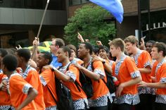 2012 World Choir Games: Celebration of Nations: A few young men from a South African choir