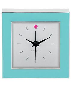 kate spade new york Clocks - Clocks - for the home - Macy's or Bed Bath and beyond $50.00