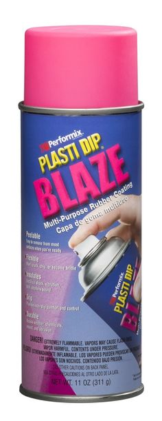 SALE! Breast Cancer Awareness Month 2015 -  $10.00 Off a Case of Blaze Pink -Use Code PINFORPINK at check out! A Warehouse Full! - Plasti Dip Fluorescent Pink Blaze 11 oz Spray Rubber coating for Wheels Tools and much more. Spray it on, peel it off!