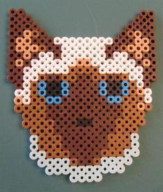 Cat perler beads by Jean M. - Perler® | Gallery