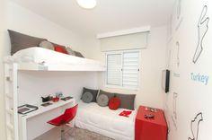 Quarto Menino empreendimento Vista Park #SP / Vista Park Boys Bedroom