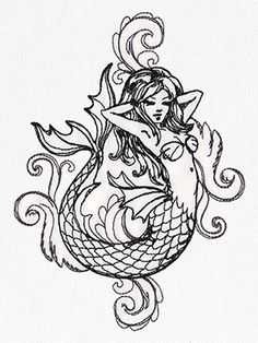 lisa frank mermaid coloring pages | download and print these ... - Coloring Pages Pretty Mermaids