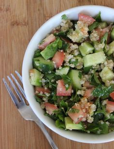 A lovely light lunch to pack for work or a healthy addition to any BBQ spread.