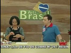 ARTE BRASIL -- JUNKO MIAZATO -- FLOR DE RESINA (17/01/2011 - Parte 1 de 2)