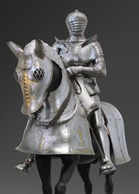 STAFF PICK: An outstanding masterpiece of early Renaissance armor. An exceedingly rare, fine, and complete horse armor and man armor, made in 1507 and about 1505 by the celebrated German armorers. Horse Armor, Philadelphia Museum Of Art, Medieval Knight, Suit Of Armor, Art Programs, Art Museum, Renaissance, Lion Sculpture, Horses