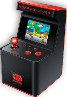 DREAMGEAR MY ARCADE RETRO ARCADE MACHINE 300 GAMES
