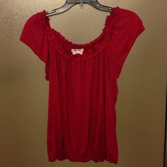 Sophie Max knit top Knit elastic waist top. Sophie Max Tops