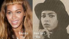 Celebrity Look-a-Likes Volume # 14 Beyonce Rocks 80's Style Short-Cut Bangs : Memoirs of an Urban Gentleman  http://memoirsofanurbangentleman.com/celebrity-look-a-likes-volume-14-beyonce-rocks-80s-style-short-cut-bangs/
