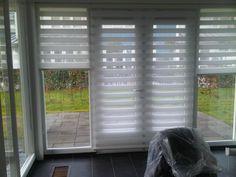 Kattestaart - Duo-rolgordijnen Home Renovation, Shutters, Window Treatments, Blinds, Sweet Home, Windows, Curtains, Living Room, House