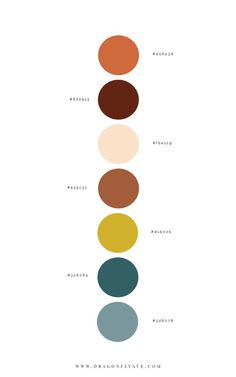 Golden Mud Brand Design - Dragonfly Ave - Expolore the best and the special ideas about Luxury houses Colour Pallette, Colour Schemes, Color Combos, Nature Color Palette, Yellow Color Palettes, Boy Room Color Scheme, Rustic Color Palettes, Website Color Palette, Color Trends