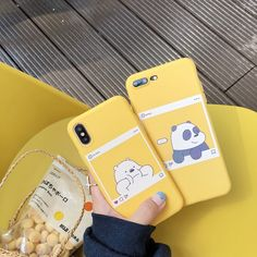 cute We Bare Bears brothers Cartoon candy soft tpu phone case for iphone 6 plus X 7 8 plus XR XS MAX cover fundas from china Iphone 7, Case Iphone 6s, Coque Iphone, Iphone 8 Plus, Free Iphone, Bear Instagram, Instagram Ideas, Panda, Animal Phone Cases