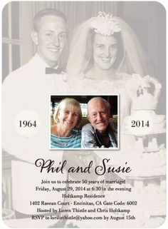 Ideas Diy Gifts For Parents Anniversary Good Ideas For 2019 - wedding anniversary invitations - Spousal