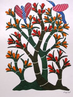 gond art - simple but gorgeous