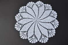 Crochet Doily by OxanaCherry on Etsy
