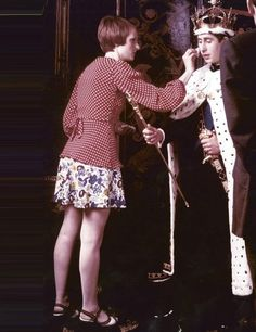 Grace Coddington Styles Prince Charles for a photo shoot