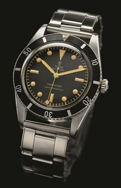 Watches Ideas Vintage Tudor Submariner Ref. 7923 /// Founded 170 years ago, GOBBI 1842 is an official retail store for refined jewelleries and luxury watches such as Tudor in Milan. Check the website : Discovred by : Todd Snyder Vintage Watches Women, Vintage Rolex, Vintage Ladies, Luxury Watches, Rolex Watches, Cool Watches, Watches For Men, Sport Watches, Tudor Heritage Black Bay