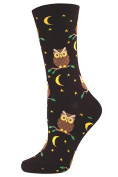 Night Owl Socks - main
