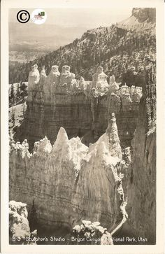 Excited to share the latest addition to my #etsy shop: Sculptor's Studio Bryce Canyon National Park Utah Black and White Real Photograph Postcard 1940's Vintage Postcard >50 Years Old http://etsy.me/2omTCoX #papergoods #black #mothersday #white #vintagepostcards #postc